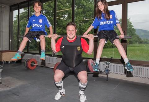Nachwuchs-Gewichtheber-Camp