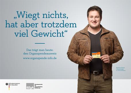 Matthias ist Organspende- Botschafter