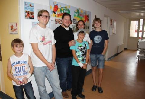 Besuch in der Kinderklinik Mannheim, 26.09.2013