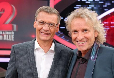 """""""Die 2 - Gottschalk & Jauch gegen Alle"""", RTL, 07.10.2013, Live-Sendung um 20:15 Uhr"""