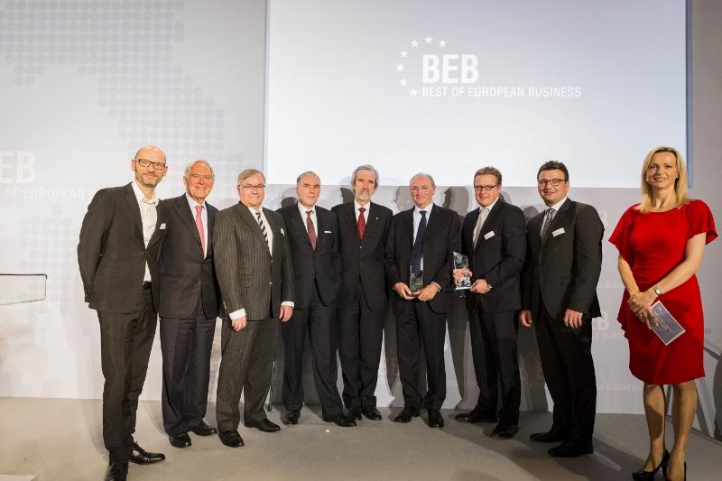 Der BEB Award  in der italienischen Botschaft Berlin.