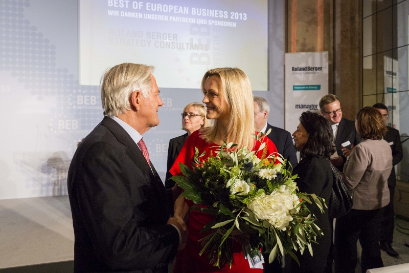 BEB Award 2013 mit Roland berger