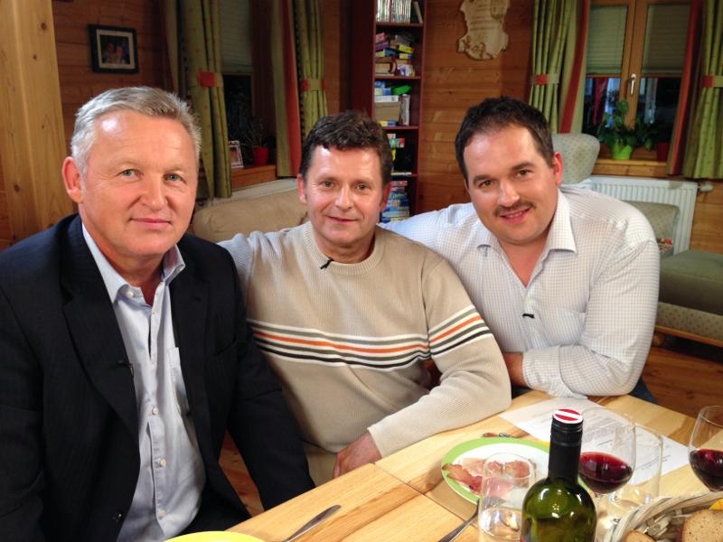 mit Frank Matek, Peter Lauterer und Rene Boyer
