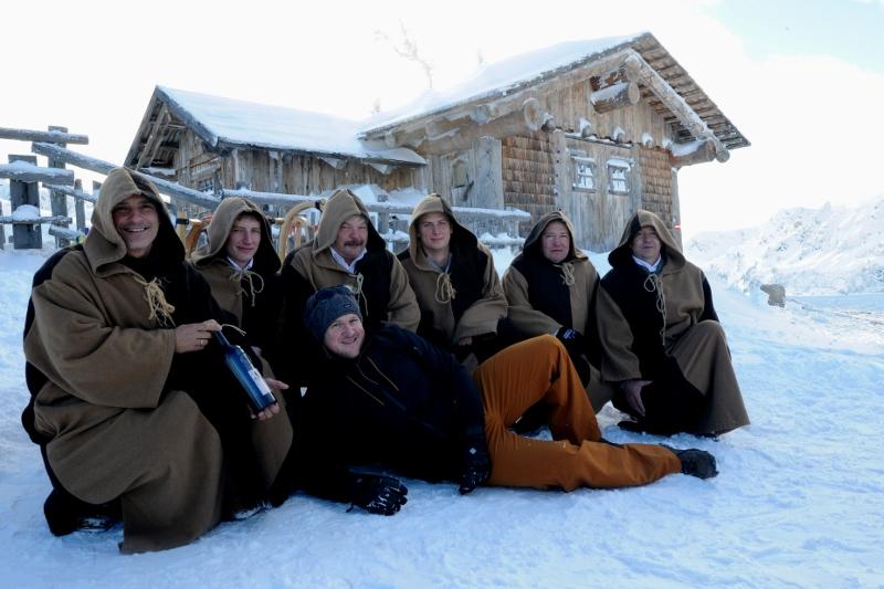 mit Mönchen