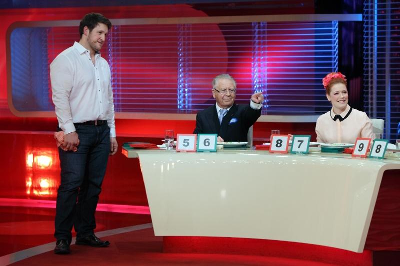 V.l.: Matthias Steiner, Heinz Horrmann, Enie van de Meiklokjes