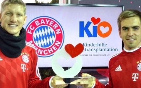 Matthias koordiniert KiO-Aktivitäten des FC Bayern München, 17.03.2014