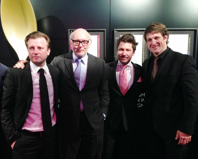 3 Sterne Koch Kevin Fehling, Horst Bork, Sommelier, Matthias