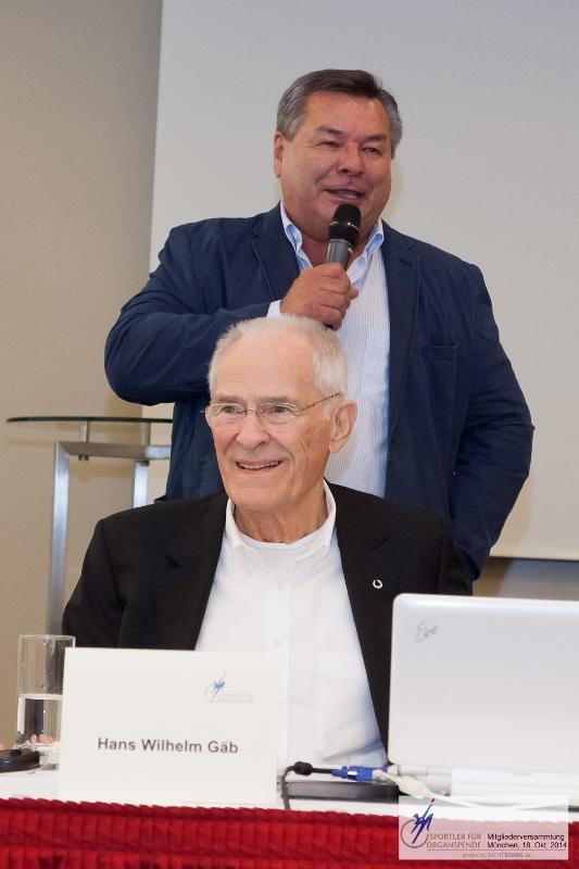 Waldemar Hartmann und Hans Wilhelm Gäb