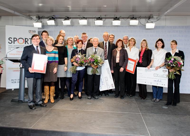 Alle Gewinner der DOSB-Preisverleihung
