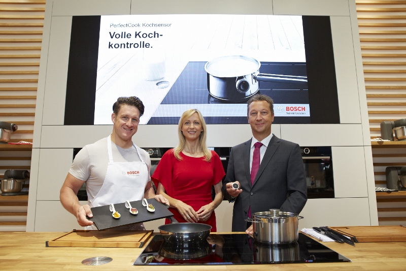 mit Harald Friedrich, GF Bosch Hausgeräte