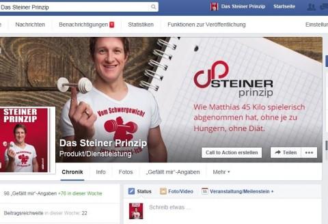 """""""Das Steiner Prinzip"""" auf facebook!"""