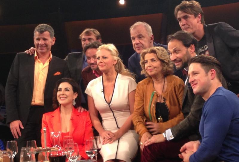 NDR Talkshow mit Barabara Schöneberger und Hubertus Meyer-Burkhardt
