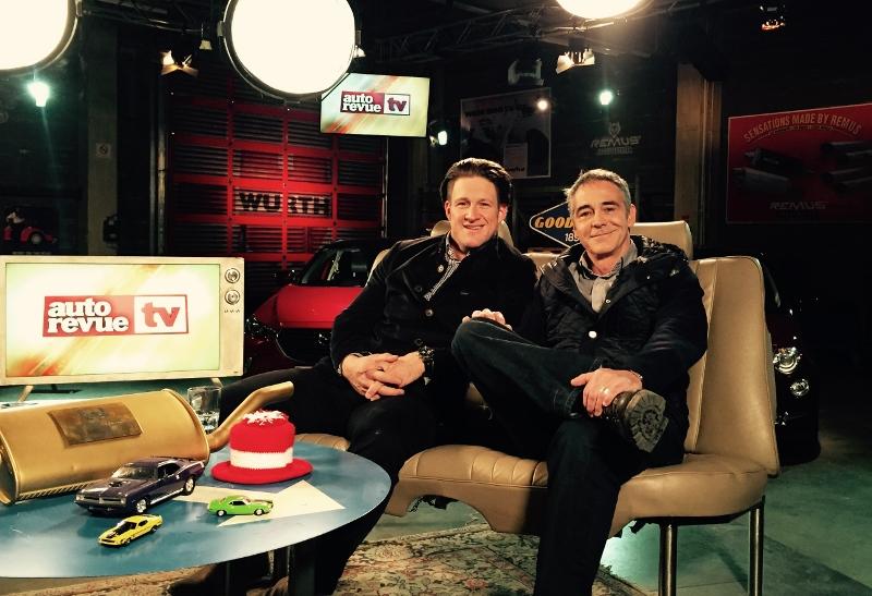 Bei autorevue TV mit Christian Clerici