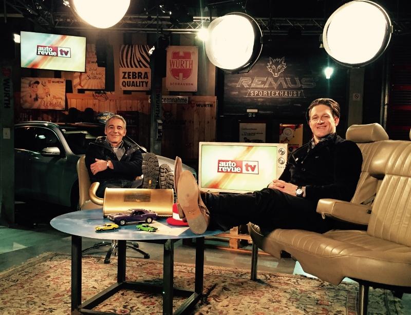 Mit Christian Clerici bei Autorevue TV
