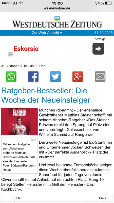 Ratgeber-Bestseller!