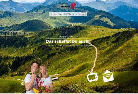 Ernährungs- und Fitnessprogramm STEINERprinzip online