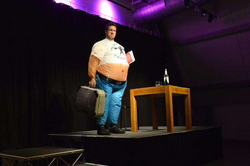 150 kg und ein schwerer Koffer