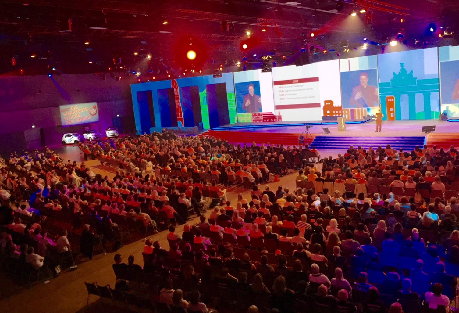 rund 1.500 Gäste lauschten dem Vortrag
